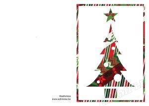Vouwkaart-Kerstboom-washi